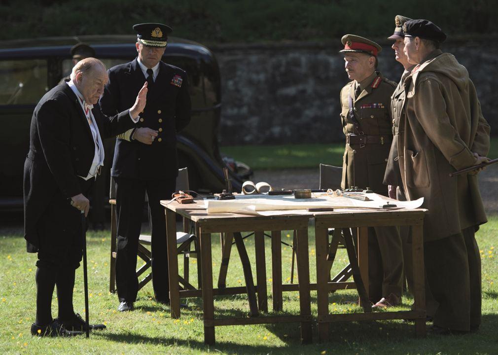 Churchill : Bild Brian Cox, Danny Webb (V), James Purefoy, John Slattery, Julian Wadham