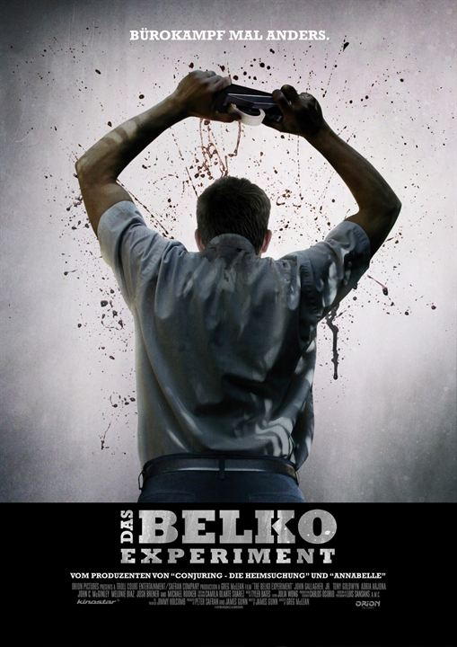 Das Belko Experiment : Kinoposter