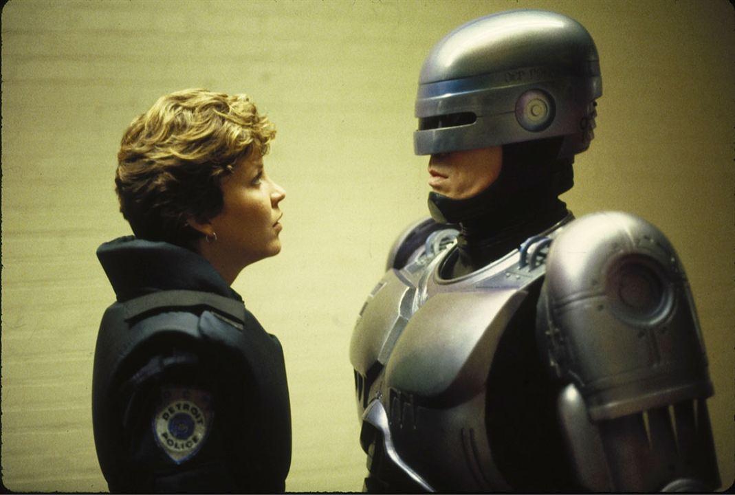 RoboCop : Bild Nancy Allen, Peter Weller