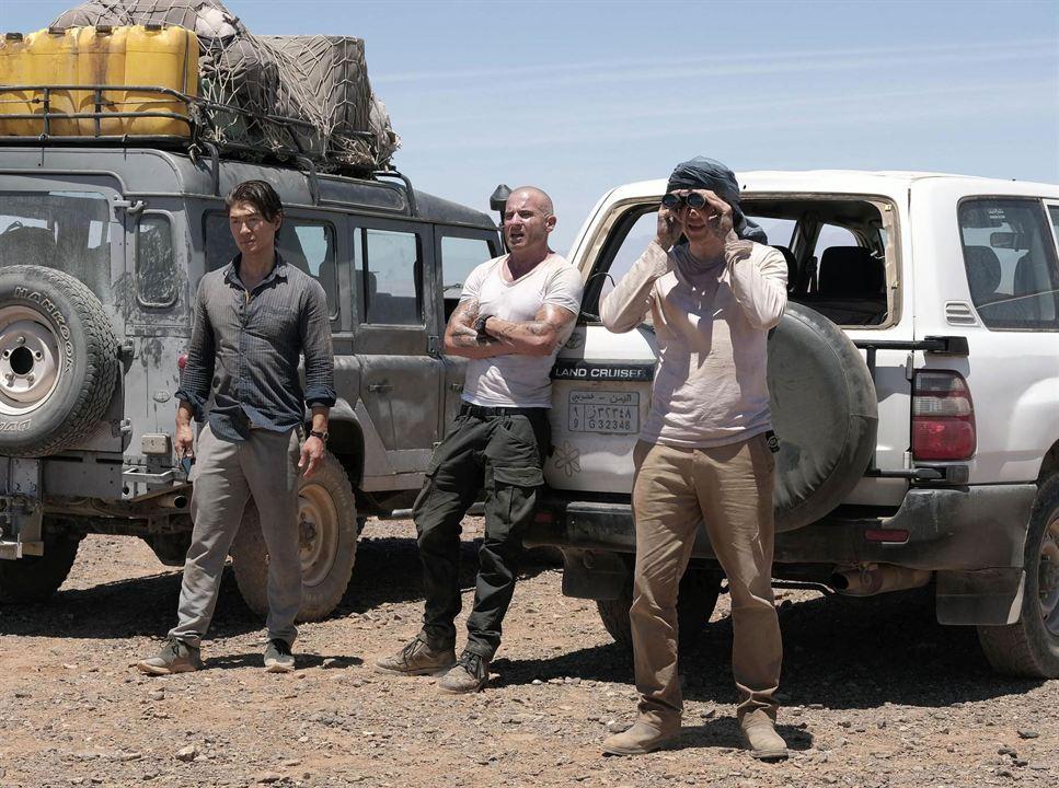 Bild Dominic Purcell, Rick Yune, Wentworth Miller