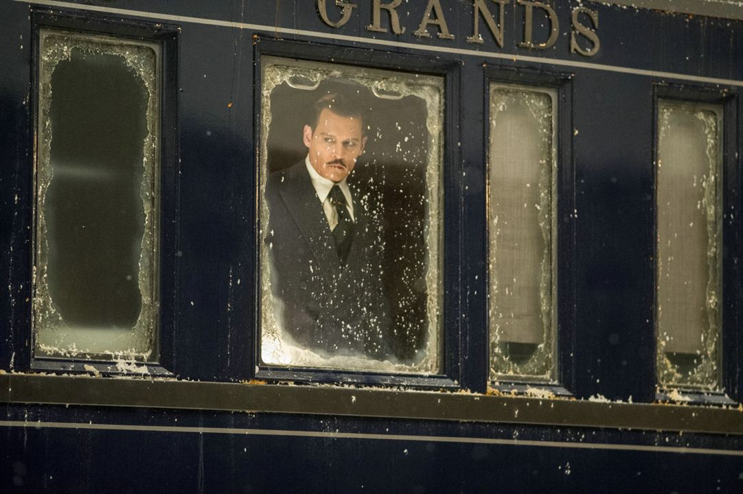 Mord im Orient-Express : Bild Johnny Depp