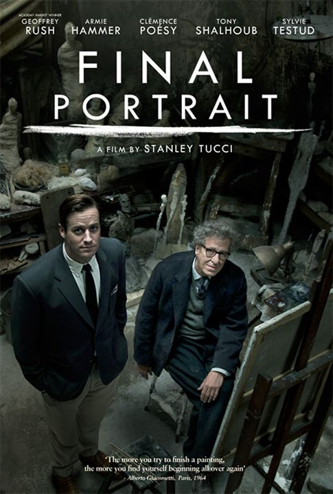 Final Portrait : Kinoposter