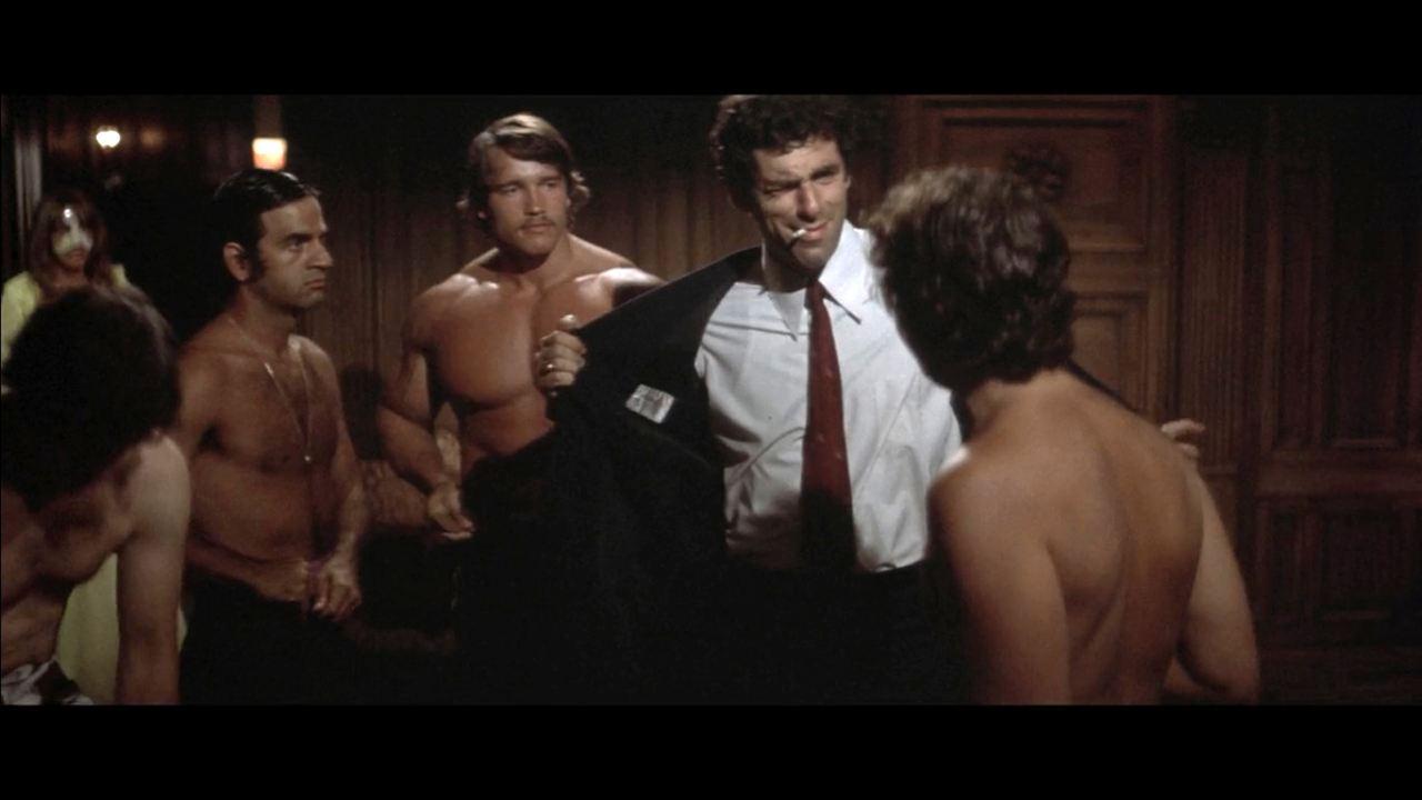 Der Tod kennt keine Wiederkehr : Bild Arnold Schwarzenegger, Elliott Gould