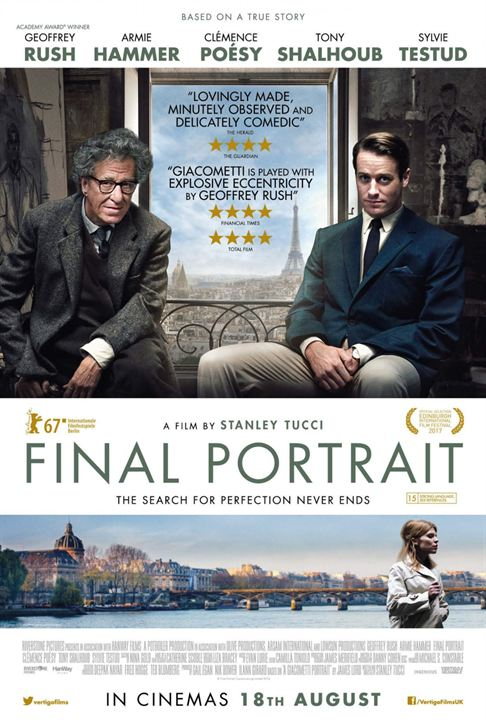 Final Portrait : Kinoposter