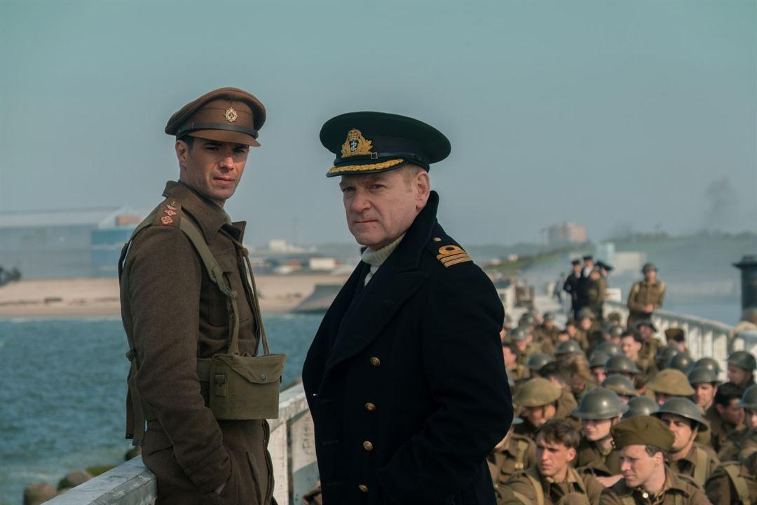 Dunkirk : Bild James d'Arcy, Kenneth Branagh