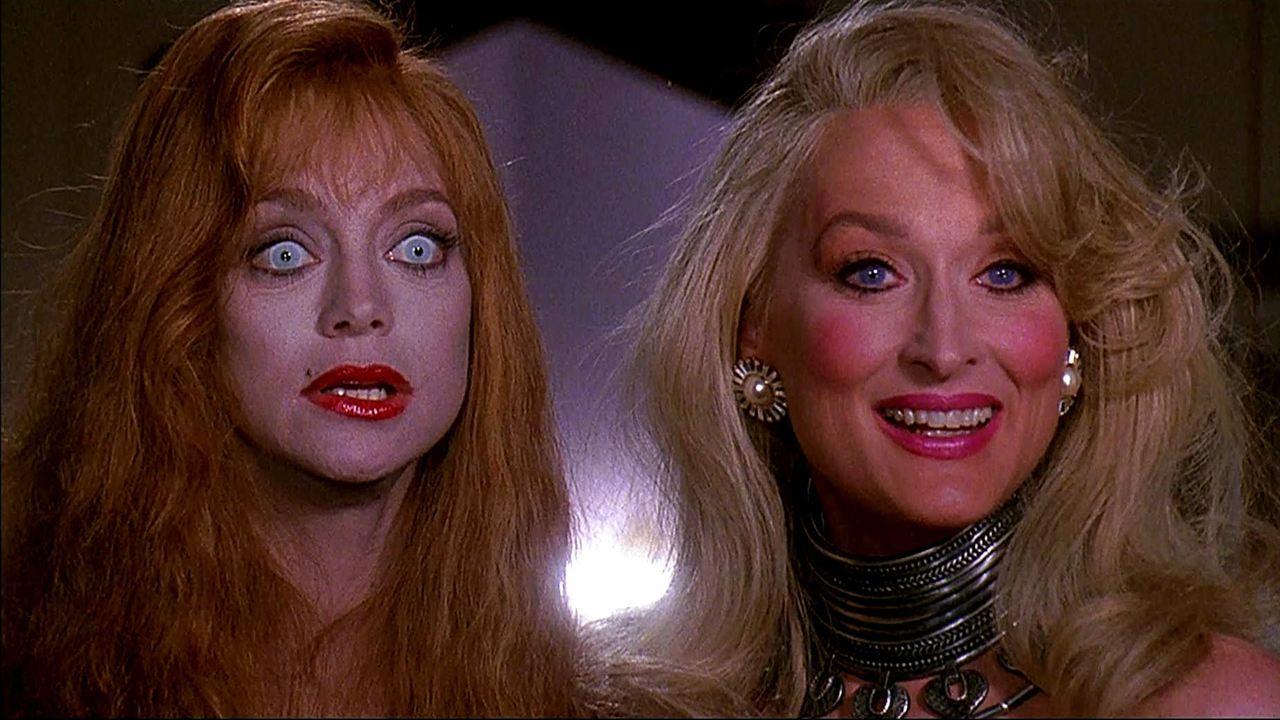 Der Tod steht ihr gut : Bild Goldie Hawn, Meryl Streep