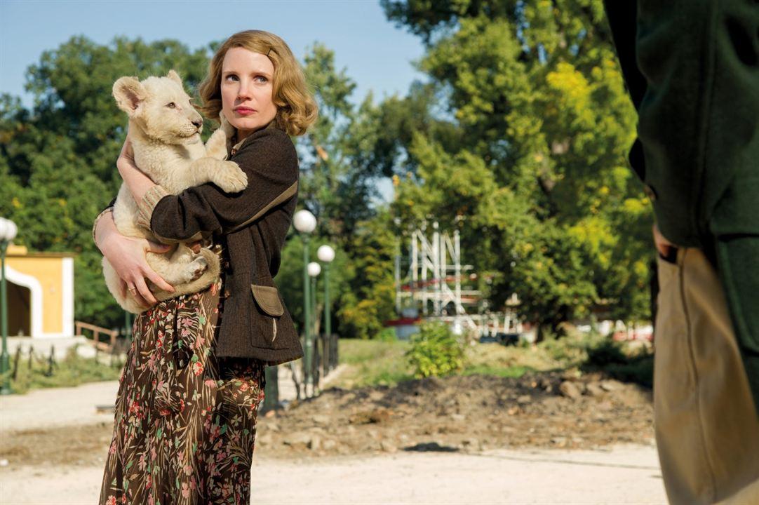 Die Frau des Zoodirektors : Bild Jessica Chastain
