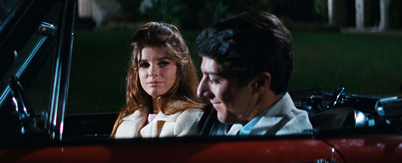 Die Reifeprüfung : Bild Dustin Hoffman, Katharine Ross