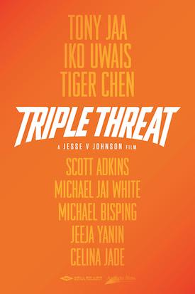 Triple Threat : Kinoposter