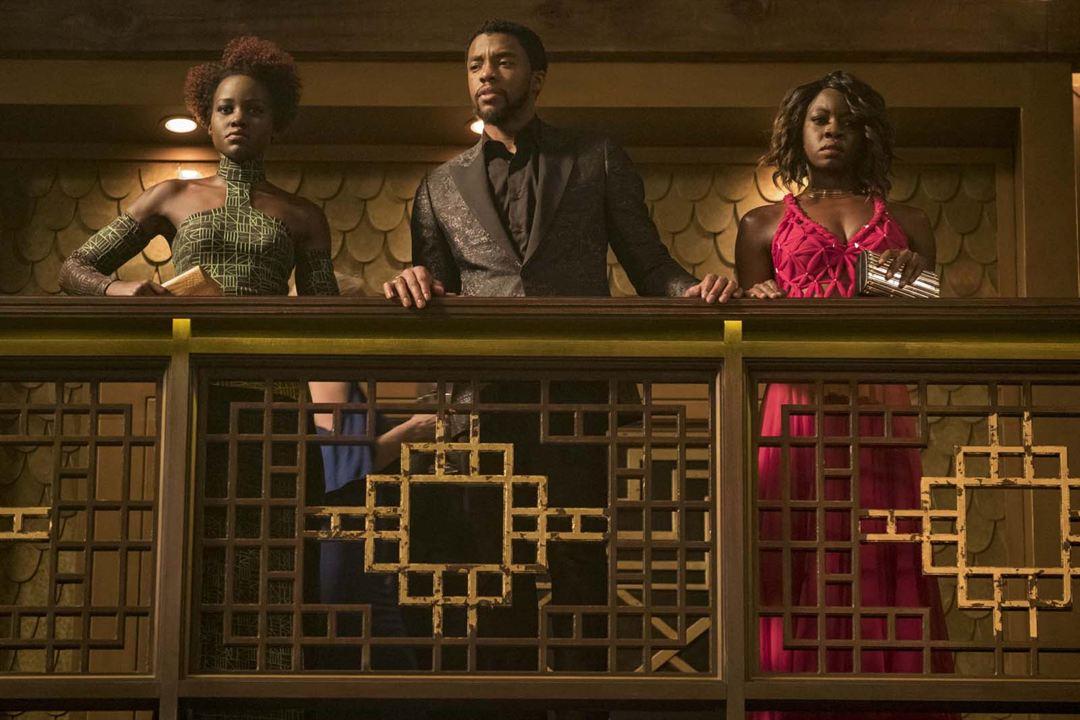 Black Panther : Bild Chadwick Boseman, Danai Gurira, Lupita Nyong'o