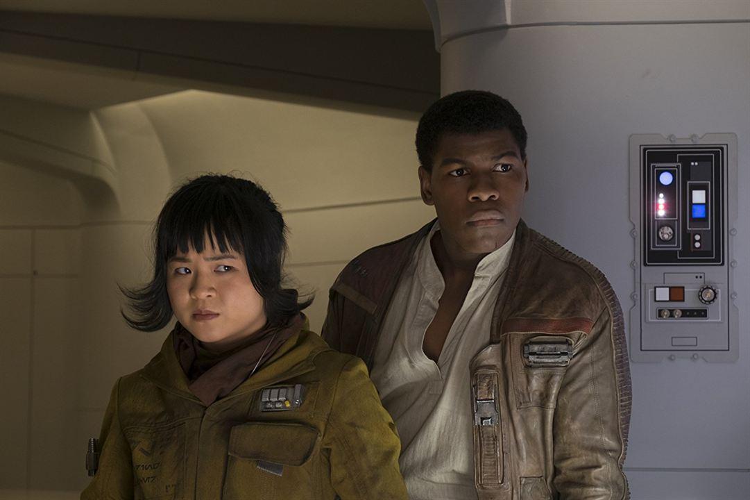 Star Wars 8: Die letzten Jedi : Bild John Boyega, Kelly Marie Tran