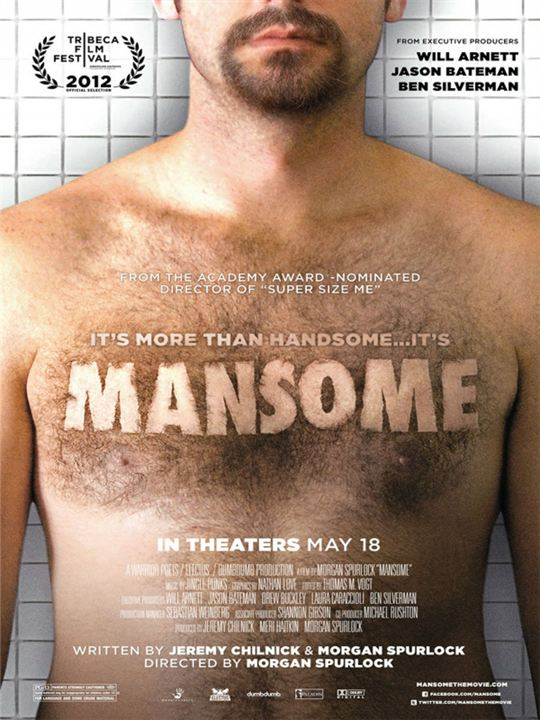 Mansome : Kinoposter
