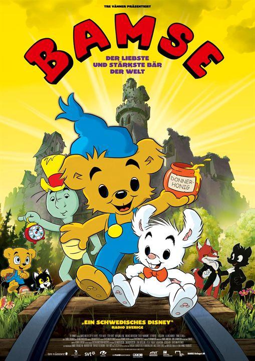 Bamse - Der liebste und stärkste Bär der Welt : Kinoposter