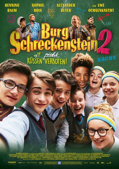 Burg Schreckenstein 2 - Küssen (nicht) verboten : Kinoposter