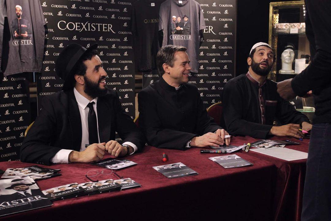 Ein Lied in Gottes Ohr: Ramzy Bedia, Jonathan Cohen, Guillaume De Tonquédec