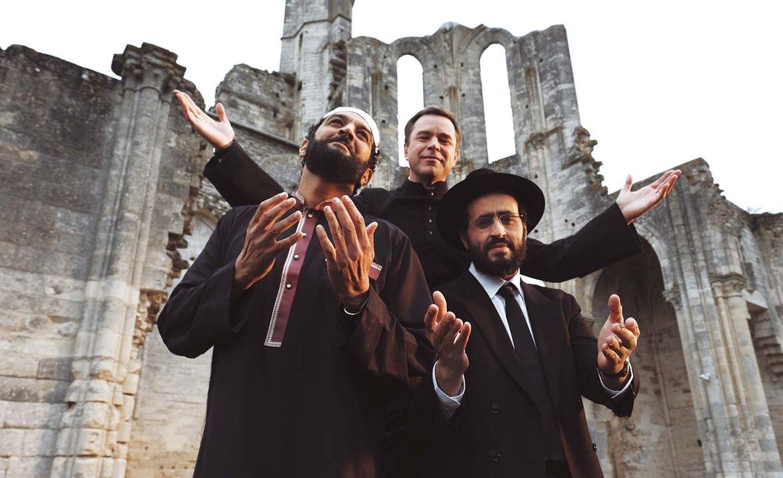 Ein Lied in Gottes Ohr : Bild Guillaume De Tonquédec, Jonathan Cohen, Ramzy Bedia
