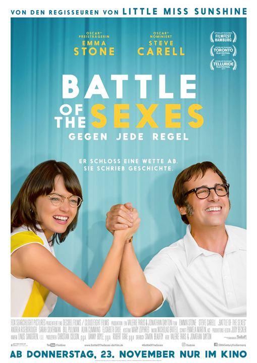 Battle Of The Sexes - Gegen jede Regel : Kinoposter