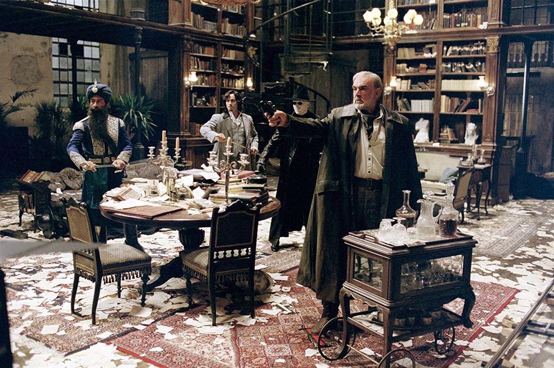 Die Liga der außergewöhnlichen Gentlemen : Bild Naseeruddin Shah, Sean Connery, Stuart Townsend