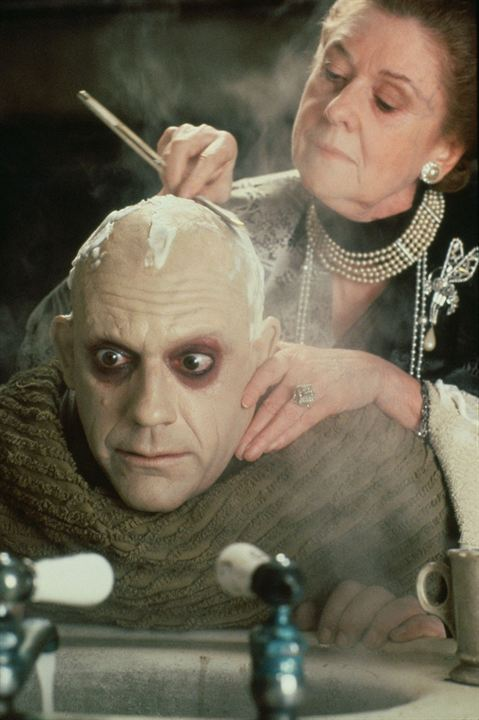 Die Addams Family : Bild Christopher Lloyd, Dana Ivey