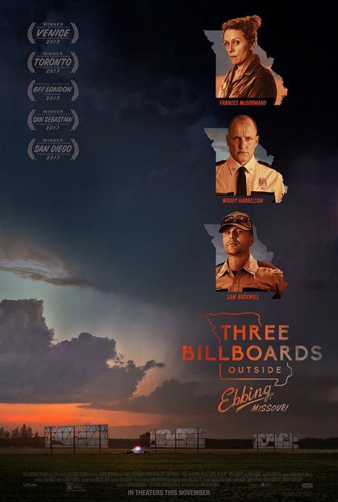 Three Billboards Outside Ebbing, Missouri : Kinoposter