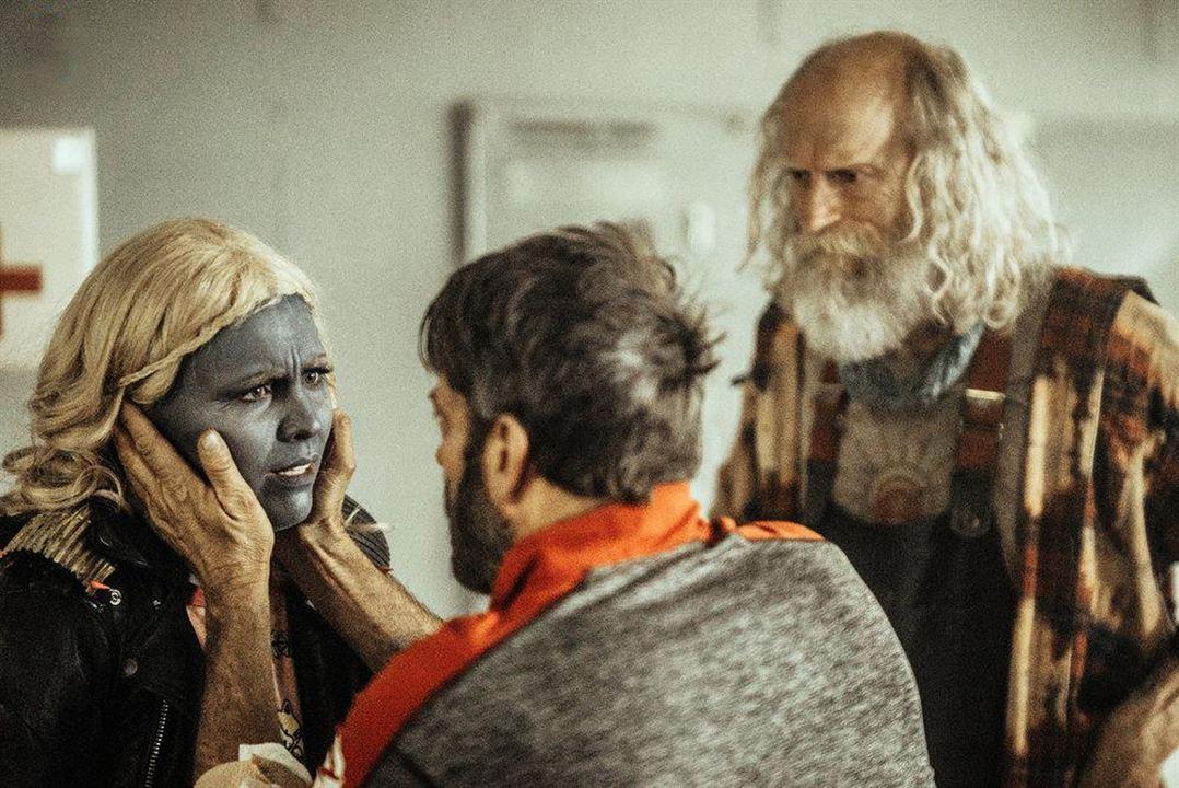 Bild Keith Allen, Russell Hodgkinson, Tara Holt