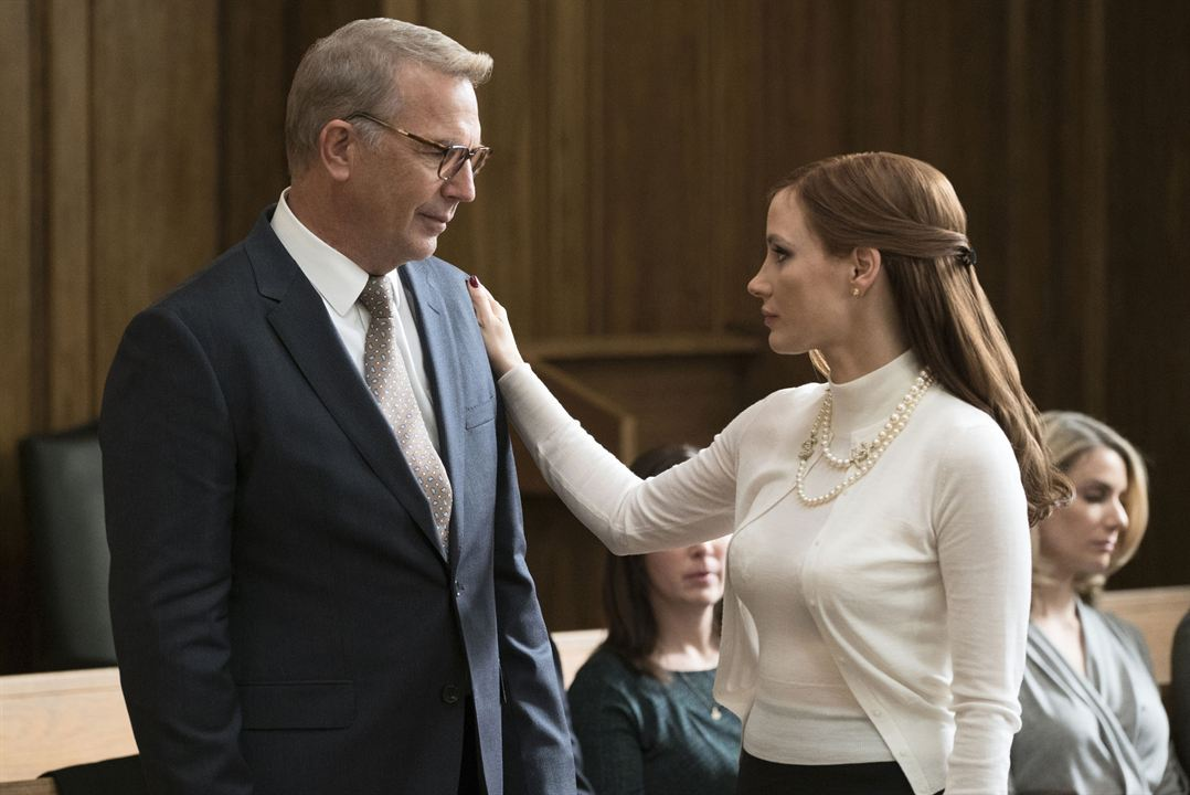 Molly's Game : Bild Jessica Chastain, Kevin Costner