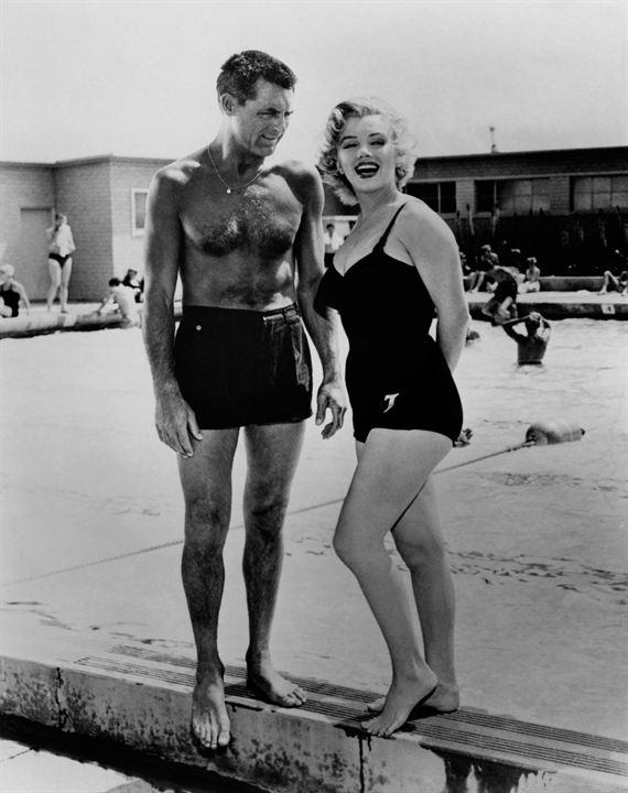 Liebling, ich werde jünger : Bild Cary Grant, Marilyn Monroe