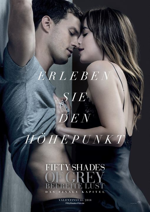 Fifty Shades Of Grey 3 - Befreite Lust : Kinoposter