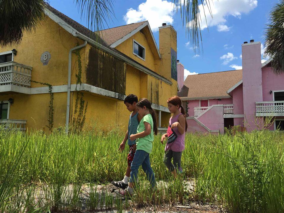 The Florida Project : Bild Brooklynn Prince, Christopher Rivera, Valeria Cotto