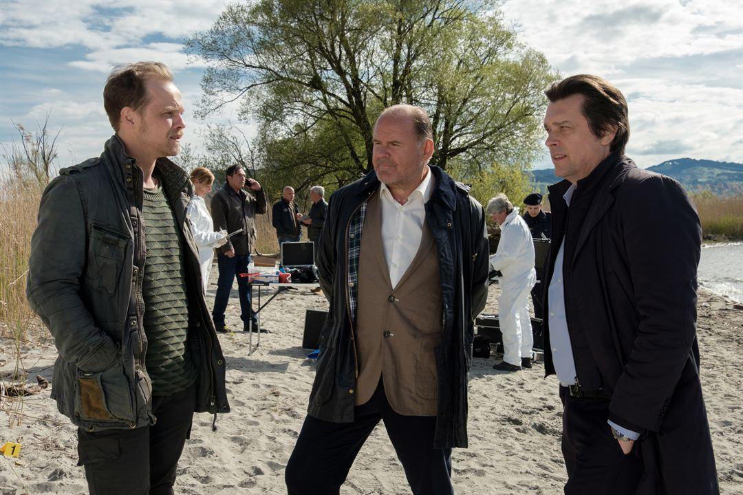Die Toten vom Bodensee: Der Wiederkehrer : Bild August Schmölzer, Hary Prinz, Matthias Koeberlin