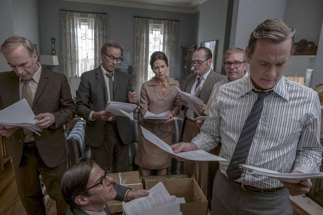 Die Verlegerin : Bild Carrie Coon, Tom Hanks