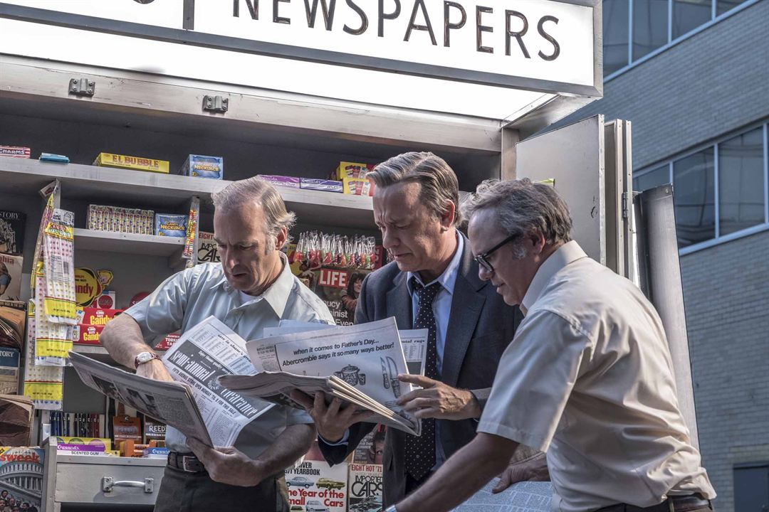 Die Verlegerin : Bild Bob Odenkirk, Tom Hanks