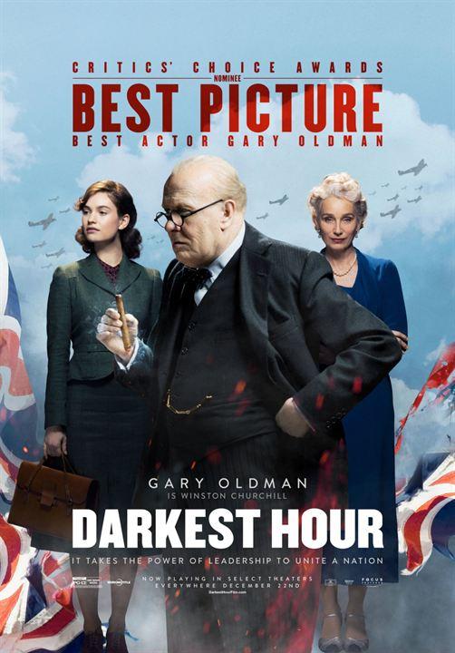 Die dunkelste Stunde : Kinoposter