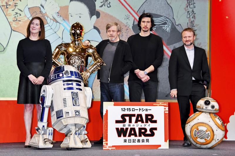 Star Wars 8: Die letzten Jedi : Vignette (magazine) Adam Driver, Kathleen Kennedy, Mark Hamill, Rian Johnson
