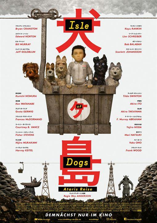Isle of Dogs - Ataris Reise : Kinoposter