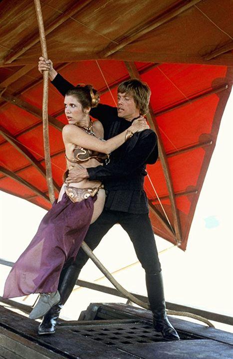 Star Wars: Episode VI - Die Rückkehr der Jedi-Ritter : Bild Carrie Fisher, Mark Hamill