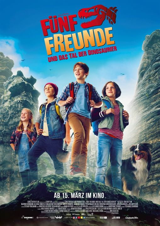 Fünf Freunde und das Tal der Dinosaurier : Kinoposter