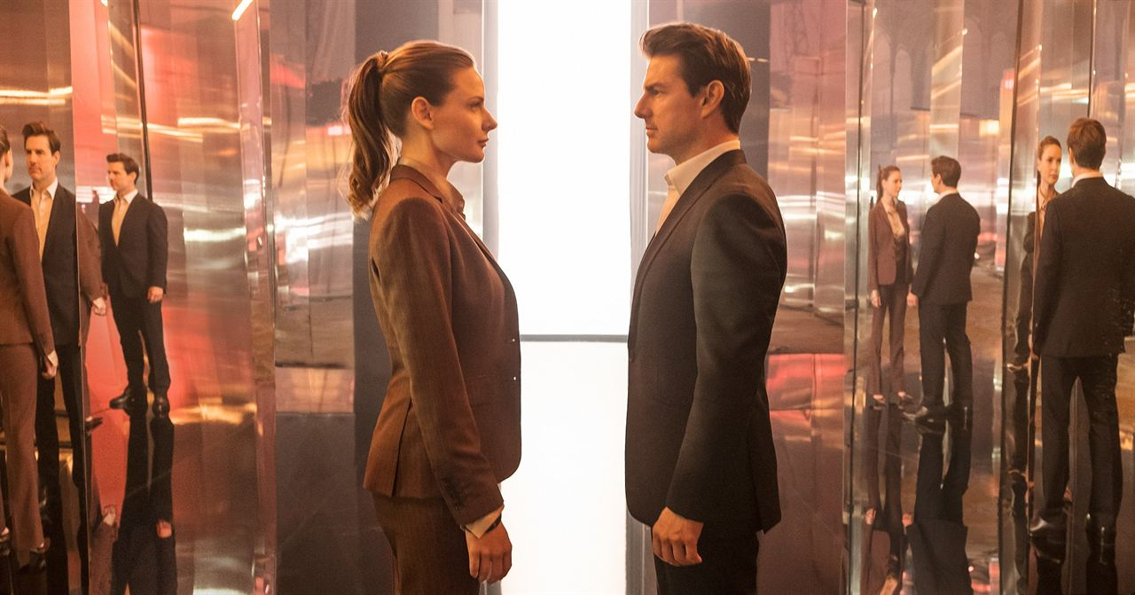 Mission: Impossible - Fallout : Bild Rebecca Ferguson, Tom Cruise