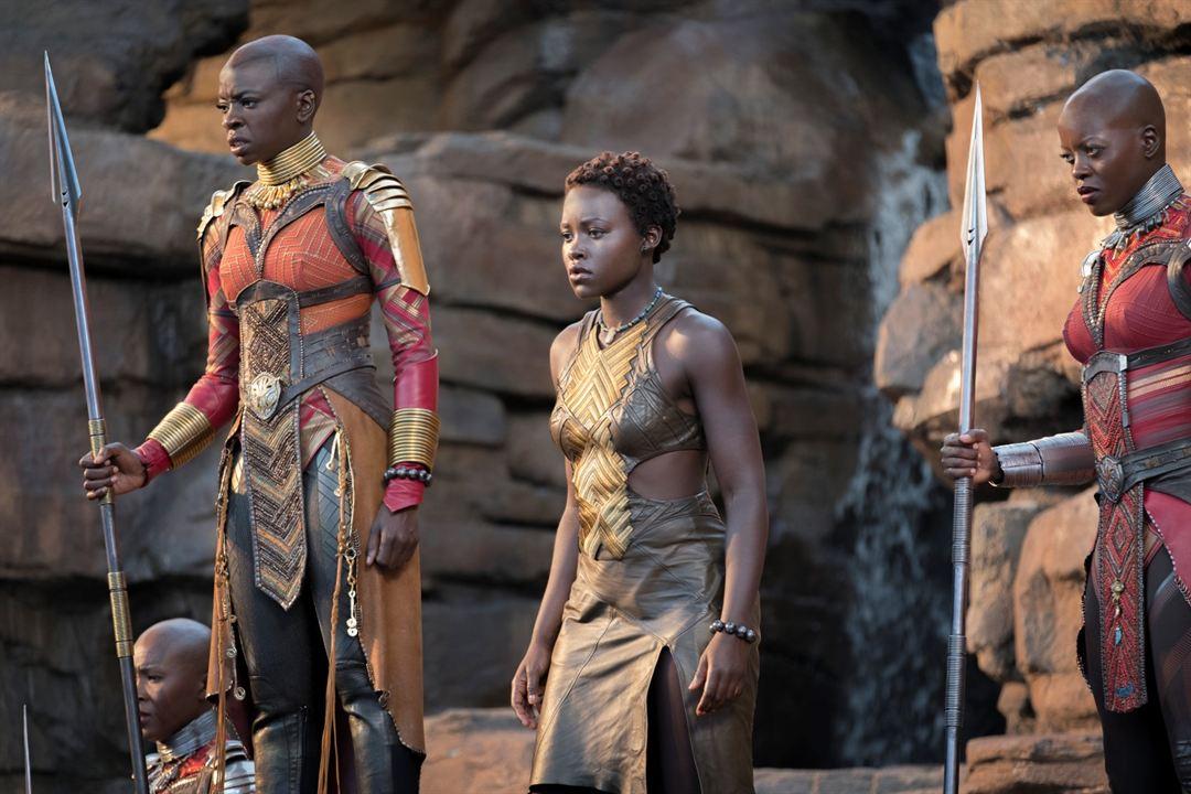 Black Panther : Bild Danai Gurira, Florence Kasumba, Lupita Nyong'o