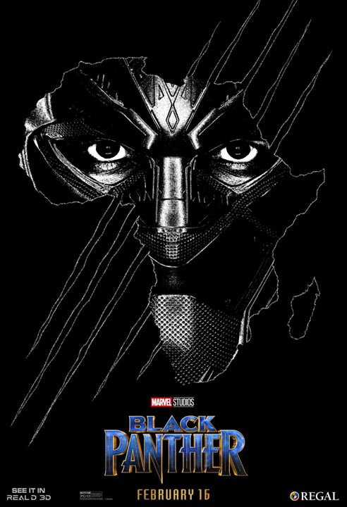 Black Panther : Kinoposter