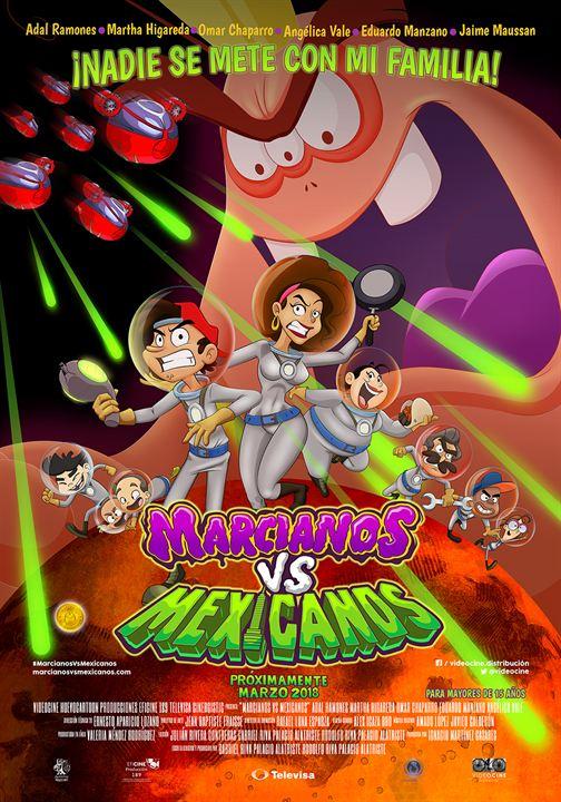 Marcianos Contra Mexicanos : Kinoposter