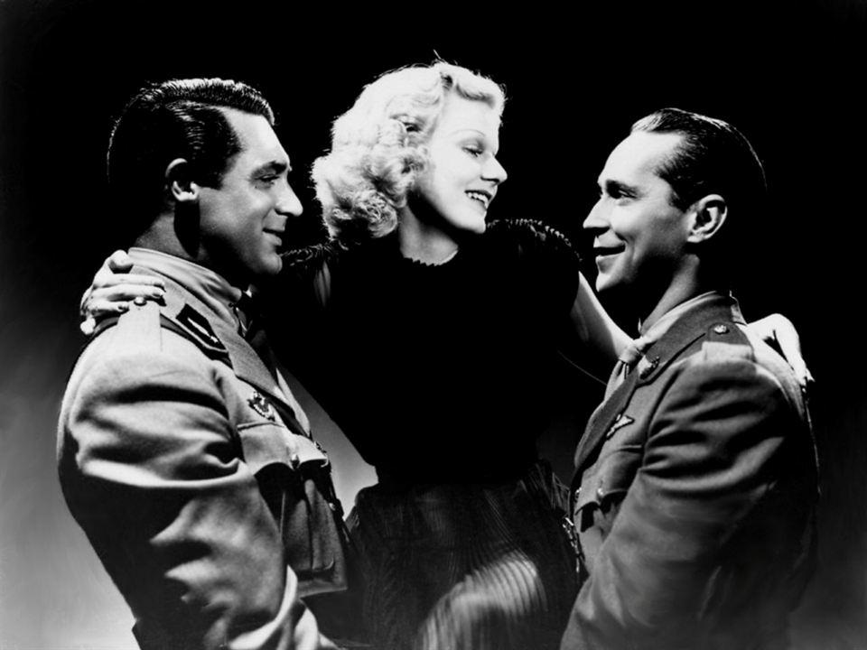 Bild Cary Grant, Franchot Tone, Jean Harlow