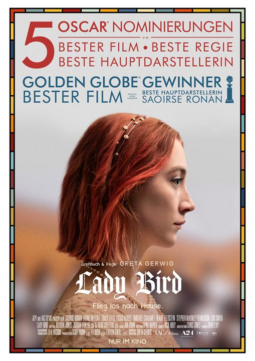 Lady Bird : Kinoposter