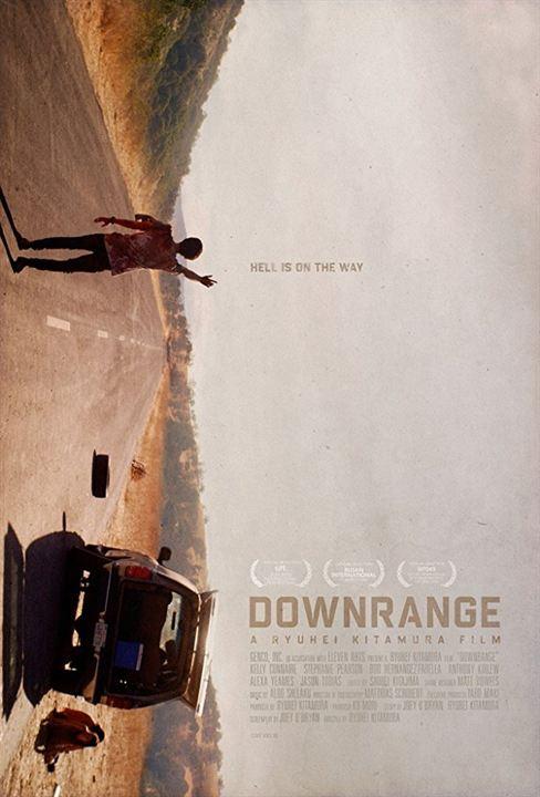 Downrange - Die Zielscheibe bist du! : Kinoposter