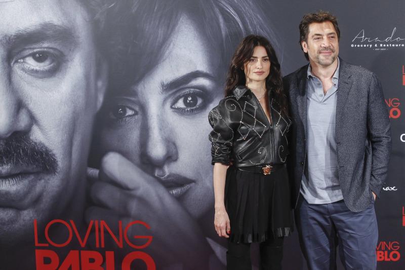 Loving Pablo : Vignette (magazine) Javier Bardem, Penélope Cruz