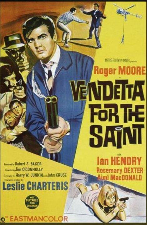 Vendetta for the Saint : Kinoposter