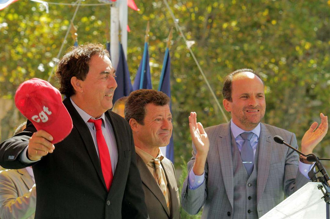 Les Municipaux, ces héros : Bild Eric Carrière, Francis Ginibre, Lionel Abelanski