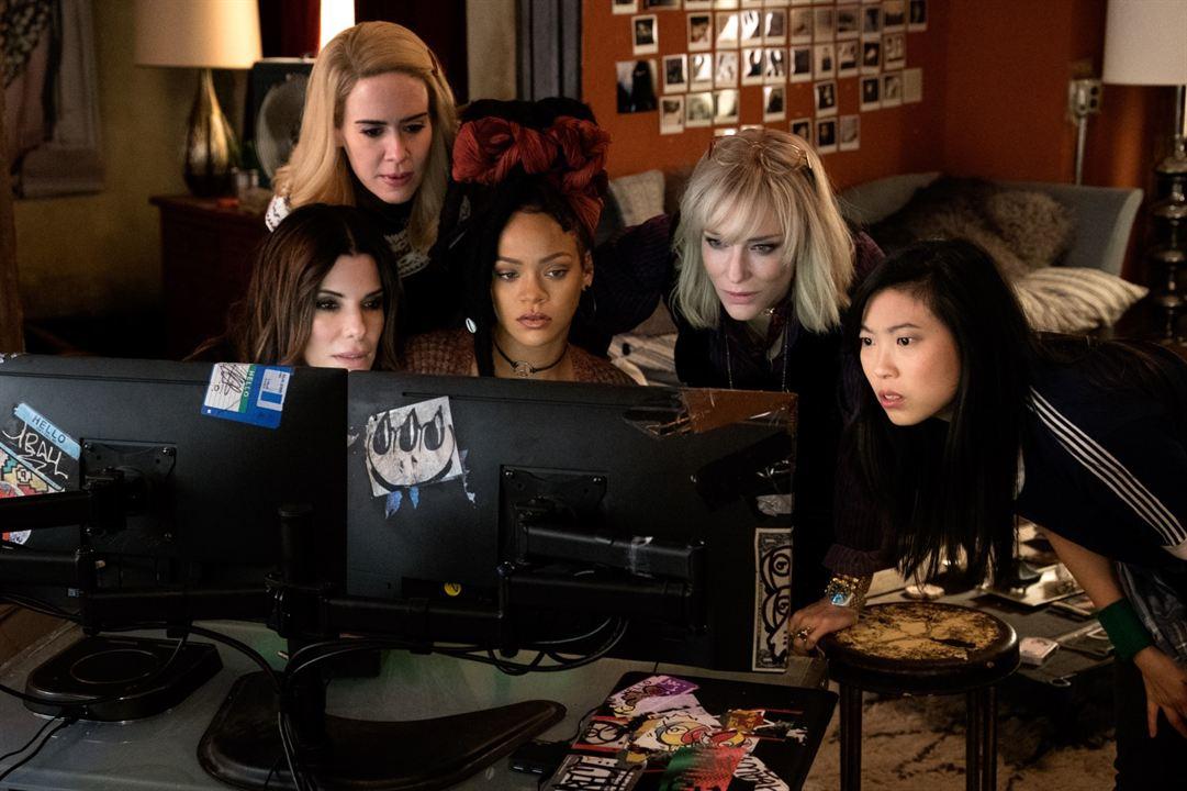 Ocean's 8 : Bild Awkwafina, Cate Blanchett, Rihanna, Sandra Bullock, Sarah Paulson