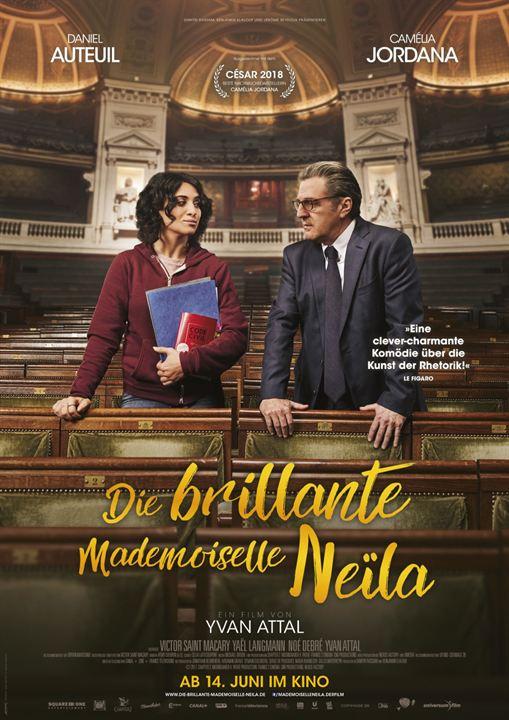 Die brillante Mademoiselle Neïla : Kinoposter