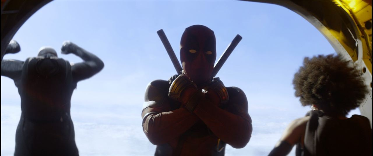Deadpool 2 : Bild Ryan Reynolds, Zazie Beetz